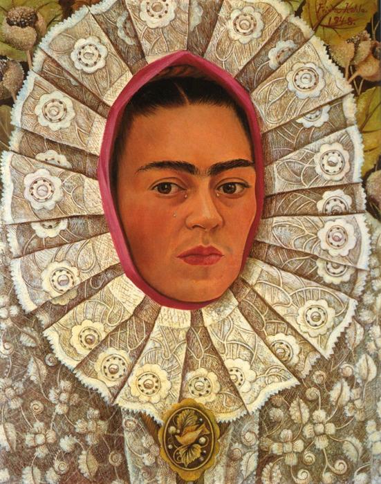 Oaxaca 1948 Frida Tehuana