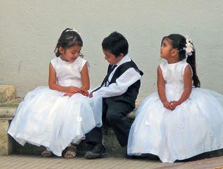 Oaxaca Ocotlán 3 Niños Boda 2