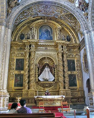 Oaxaca Santo Domingo Chapel Our Lady of the Rosario