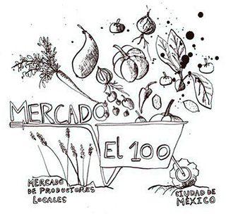 Mercado el 100 logo
