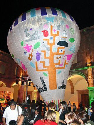 Feria Globo de Cantoyo Enorme con Logotipo