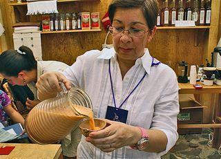 Horchata Tascalate de Chiapas, Pati Zepeda