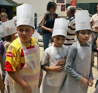 Evento Giorgio Nieto Rubí con Niños Chefs