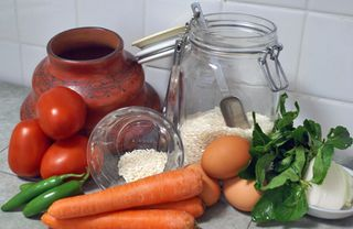 Albóndigas Ingredientes