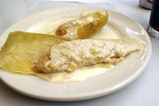 Oaxaca La Teca Tamales de Elote 2