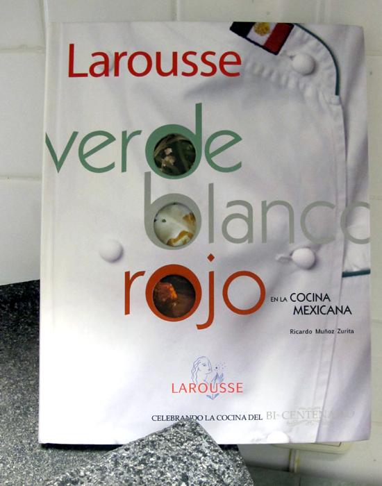 Adobo Verde Blanco Rojo Larousse