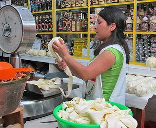 Oaxaca Mercado Quesería Las 7 Regiones Julia Pérez