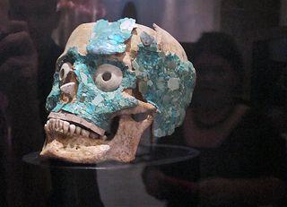 Oaxaca Santo Domingo Museo Calaca con Turquesa