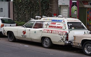 Condesa Love Ambulance
