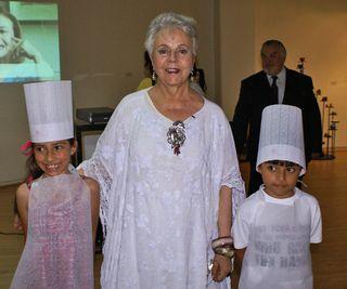 Evento Giorgio Alicia con Niño Chefs