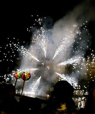 Oaxaca Calenda 7 Fireworks