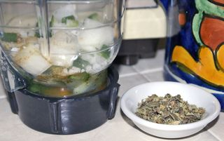 Albóndigas Ingredientes en Licuadora