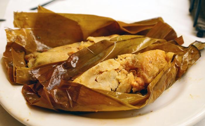 Oaxaca La Teca Tamales de Cambray