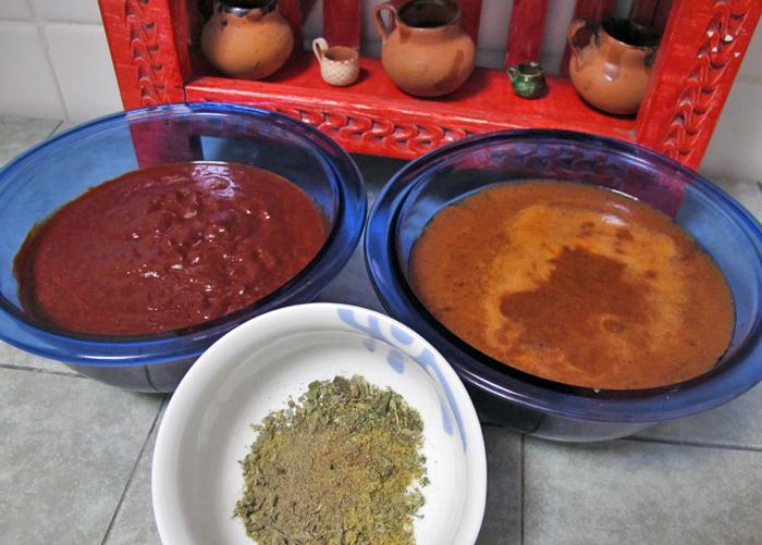 Adobo Chiles Molidos Caldo y Especias