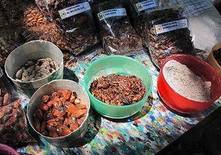 Mercado 100 Chapulines y Maíz