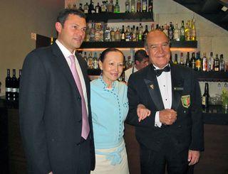 IZOTE Patricia Quintana, Pedro Poncelis, Brandon Milmo