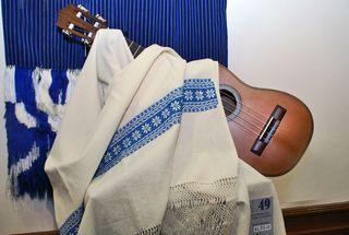 Rebozo con Guitarra