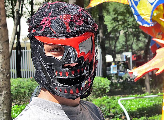 Alebrijes Lucha Libre Vendedor de Máscaras