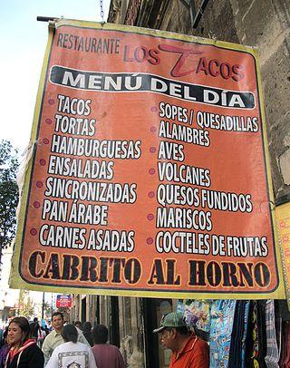 Restaurante Los Tacos Lona