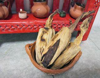 Tamalitos de Frijol Negro