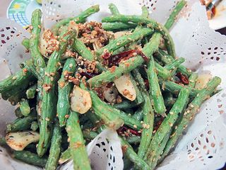 Dalian Dry-Fried Green Beans