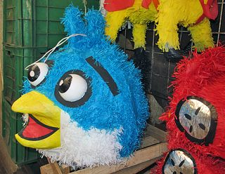 Piñata Angry Birds Blue