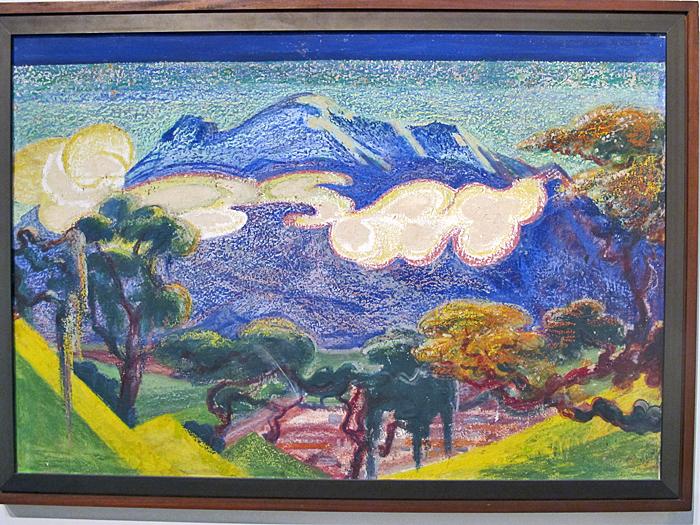 Atl Iztaccihuatl 1916 Atl Color sobre Cartón Museo Regional de Guadalajara INAH