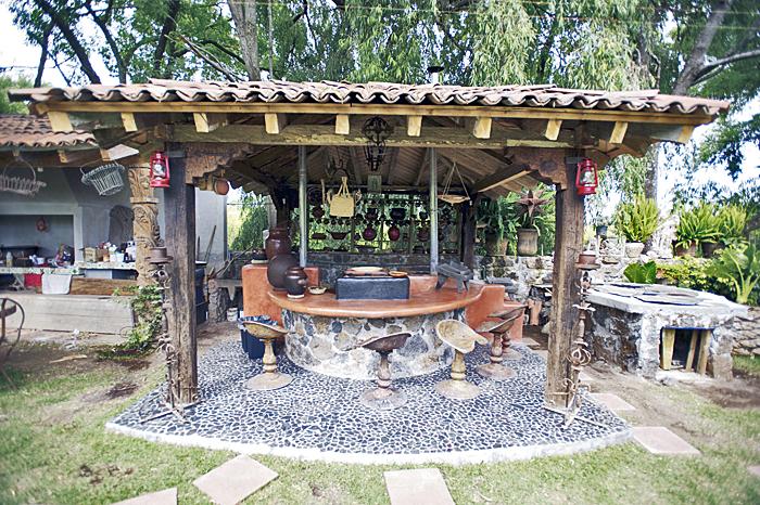 Zirita cocina en el patio memo - Cocinas con salida al patio ...