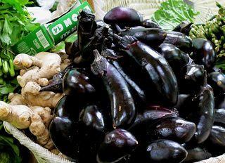 Mercado SJ Ginger and Eggplants