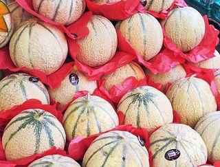 Paris Marché d'Aligre Melon Cavaillon