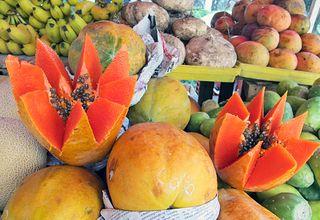 Bonjour Paris Papaya con Otras Frutas