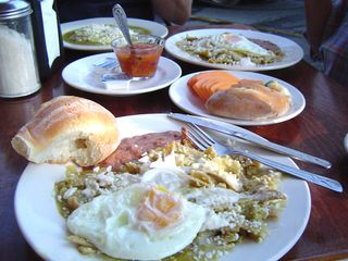 Pátzcuaro Breakfast