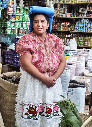 Zirita Benedicta en el Mercado San Juan, Morelia