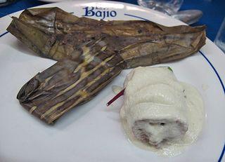 Bajío Mole Blanco con pechuga de pollo