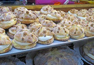 Pan Panadería Suiza con Nata