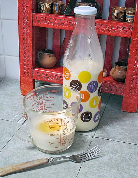 Cobbler Milk and Egg