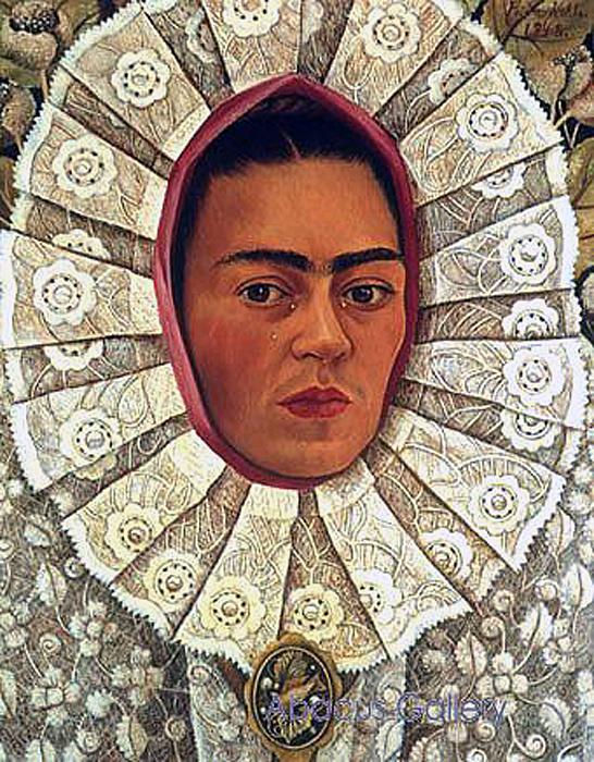 Frida de Tehuana detalle