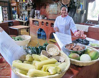 Zirita Carolina con Ingredientes
