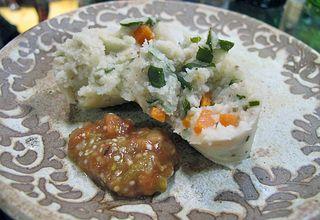 Zirita Corundas on the Plate
