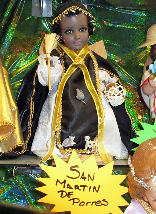 Niño Dios San Martín de Porres