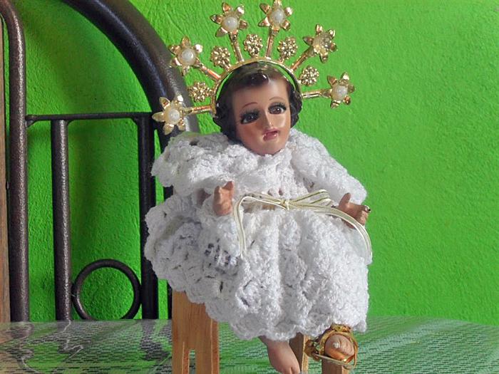 Niño Dios Ropa Tejida