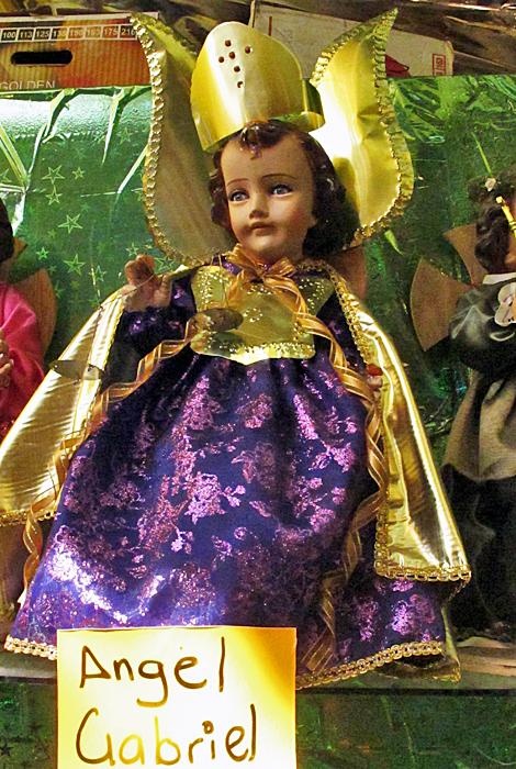 Niño Dios Ángel Gabriel