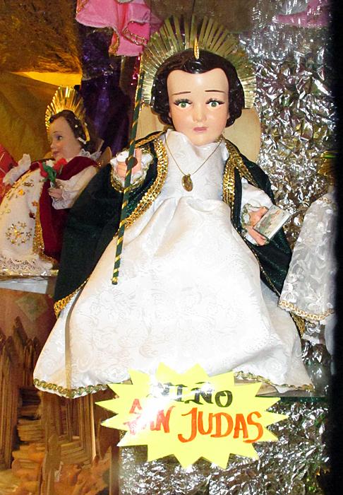 Niño Dios San Judas Tadeo