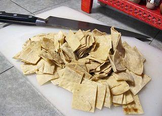 Chilaquiles Tortilla Cortada