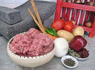 Picadillo Ingredients 1