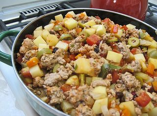 Picadillo Finished Cooking