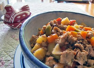 Picadillo In the Plate