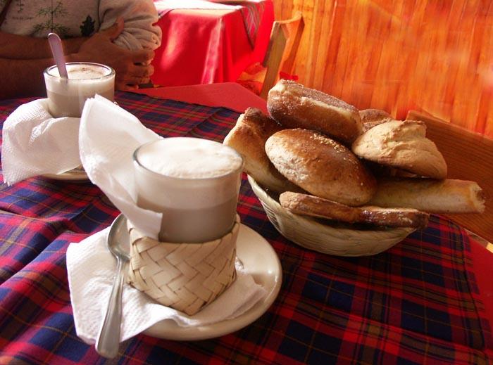 Pan con Cafe