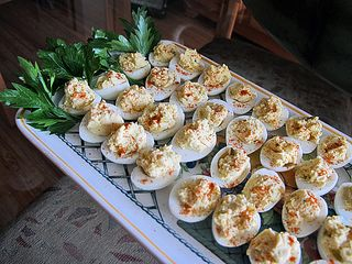 Judy's 65th Deviled Quail Eggs 1