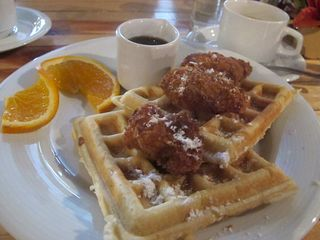Spice Chix and Waffles